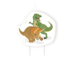 Tårtljus Dinosaurier