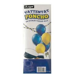 Vattentät Poncho Transparent
