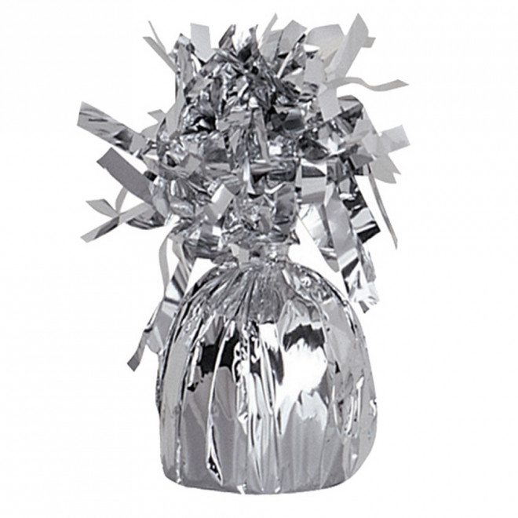 Ballongtyngd Folie Silver