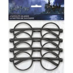 Glasögon Harry Potter 4-pack