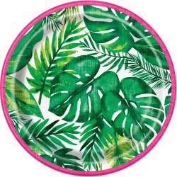 Pappersassietter Tropisk