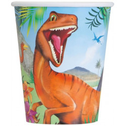 Pappersmugg Dinosaurie
