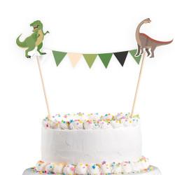 Tårtdekoration Dinosaurier