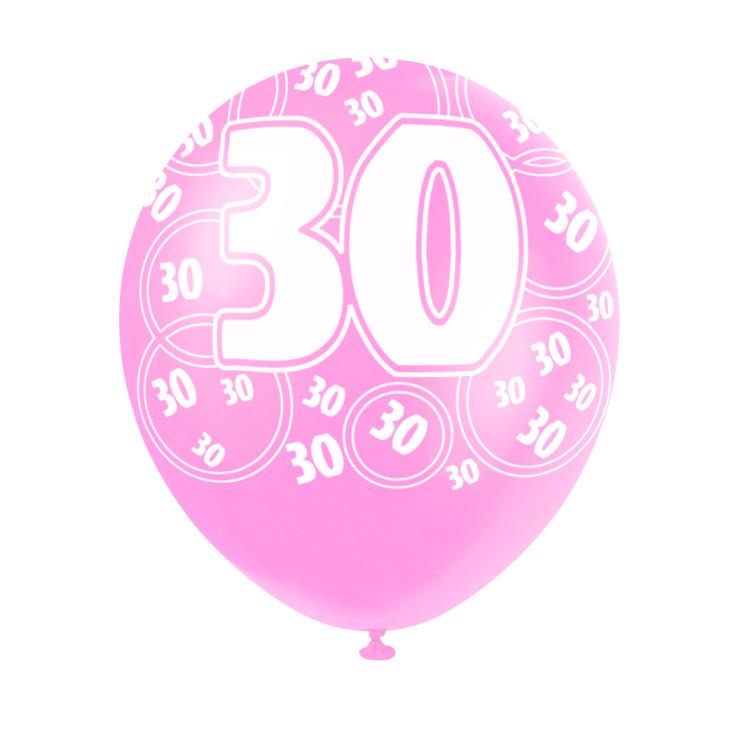 Ballong Pink 30