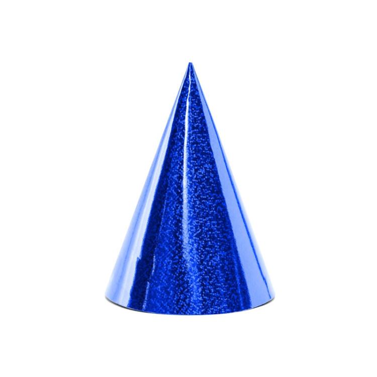 Partyhattar Blå Glitter