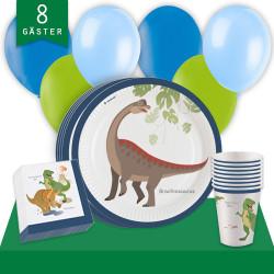 Kalaspaket Dinosaurier Enkel 8pers
