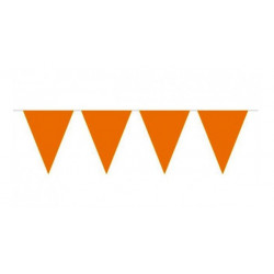 Flaggirlang Orange