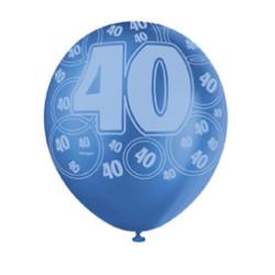 Ballong Blue 40 år