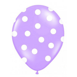 Ballonger Lila Dots