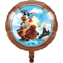 Folieballong Piratskatt