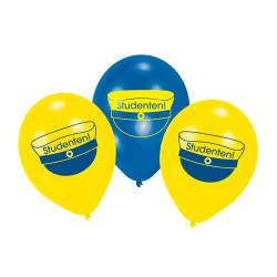 Ballonger Grattis till Studenten