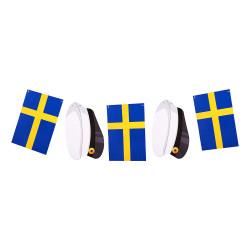 Flaggirlang Flaggor & Studentmössa