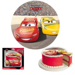 Tårtbild Sockerpasta Cars