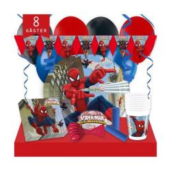 Kalaspaket Spindelmannen Lyx 8 pers
