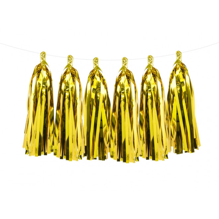 Girlang Tassel Guld