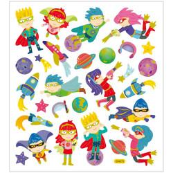 Klistermärken Superhjältar