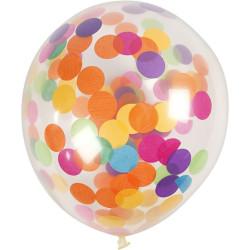 Ballonger med Konfetti