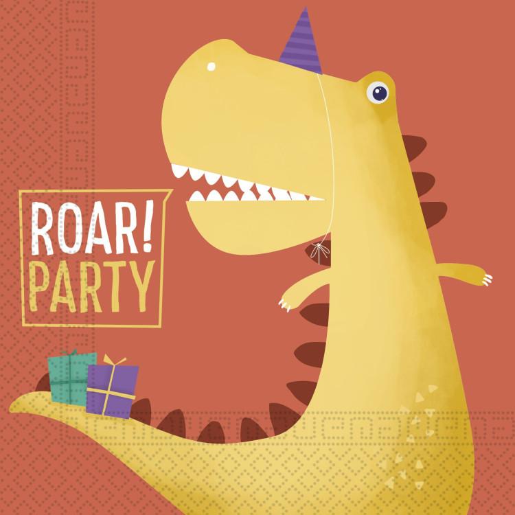 Lunchservetter Dinosaurie Roar