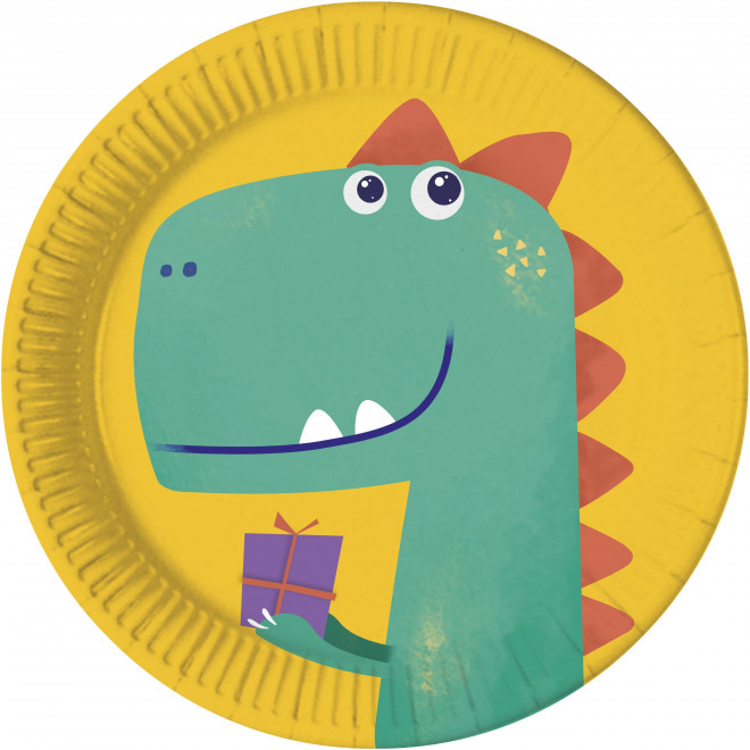 Papperstallrikar Dinosaurie Roar, Miljö