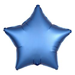 Folieballong Stjärna Mörkblå