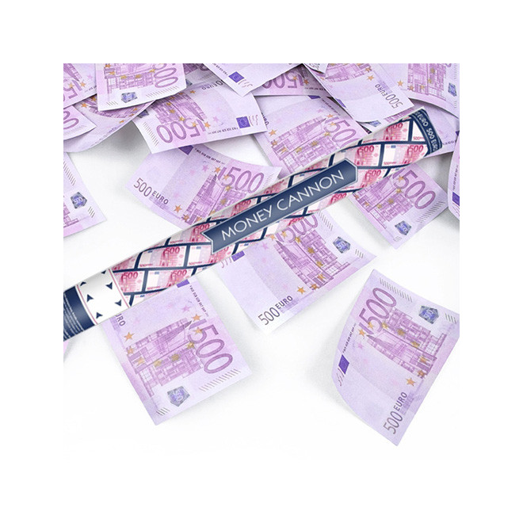 Konfettikanon Eurosedlar