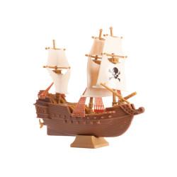 Tårtdekoration Piratskepp