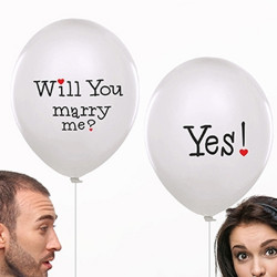 "Ballonger ""Will you Marry me?"""