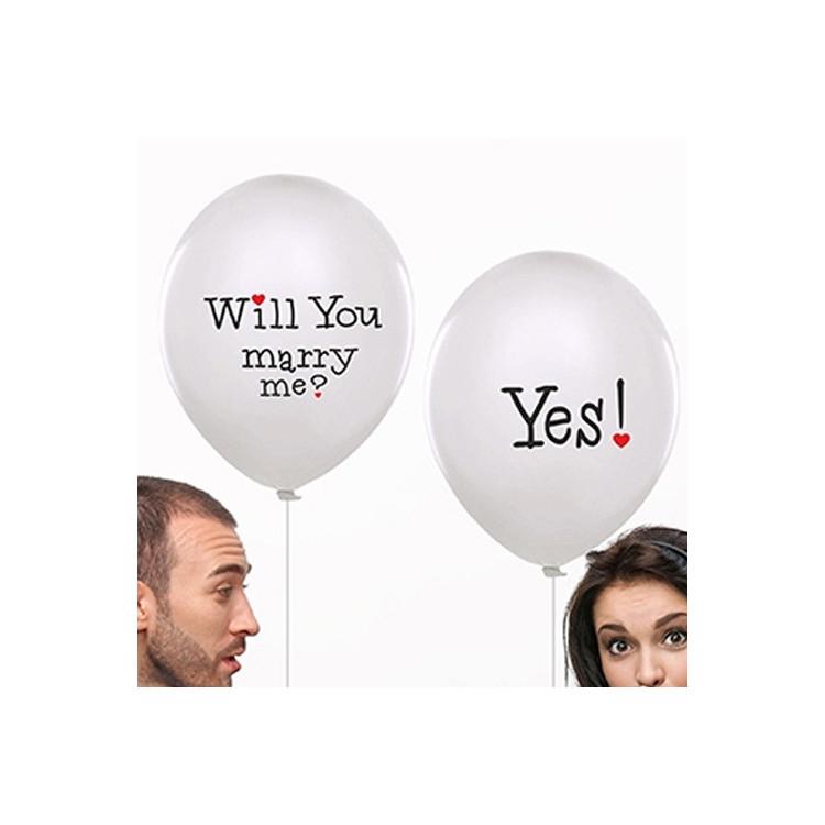 "Ballonger ""Will you Marry me?"""