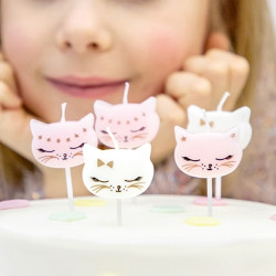 Tårtljus Katt