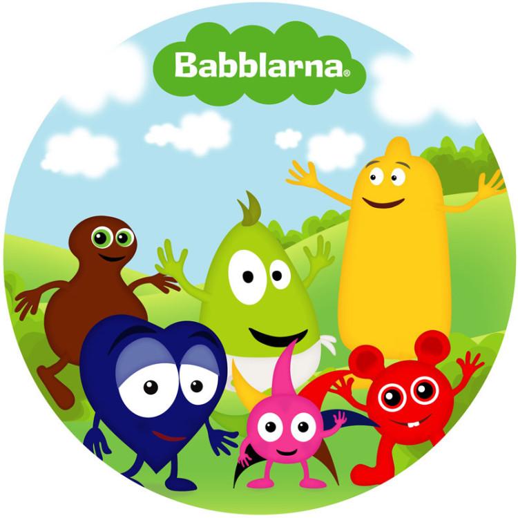 Tårtbild Babblarna