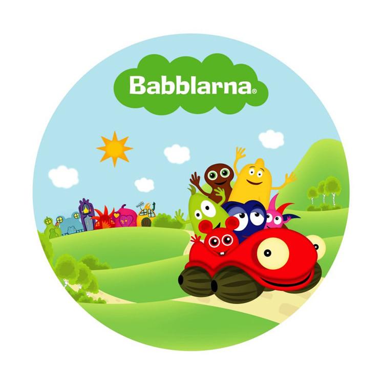 Tårtbild Babblarna Bil