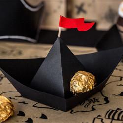 Pappersbåtar Pirat