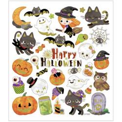 Stickers Halloweenpumpor