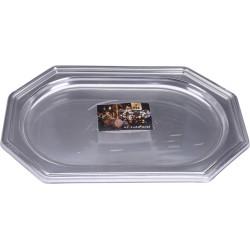 Uppläggningsfat Silver litet 2-Pack