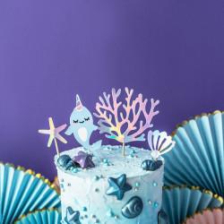 Cake Toppers Seashell