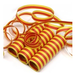 Serpentiner röd,gul,röd