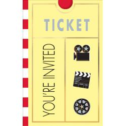 Filmkalas Inbjudningskort