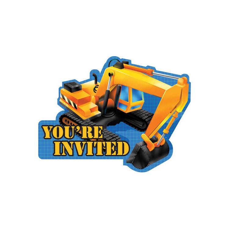 Inbjudan Byggarbetsplats