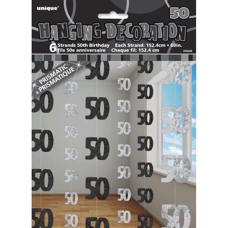 Girlang 50 svart