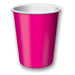 Pappersmugg Hot Pink