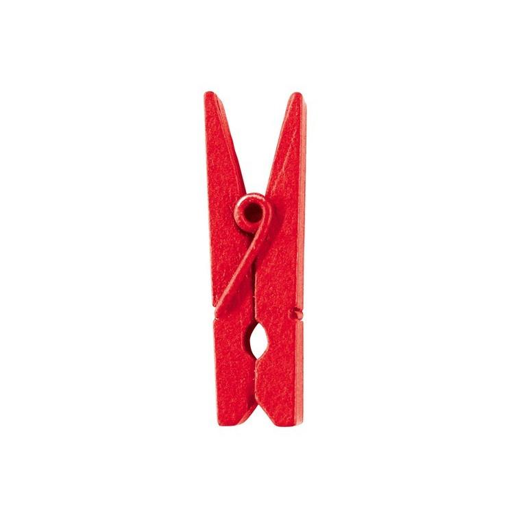 Klädnypor Röd