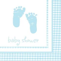 Baby Feet Lunchservett