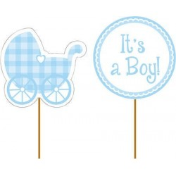 Baby Blue Partypicks