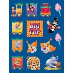 Klistermärken Big Top