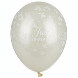 Ballonger Just Married Cream