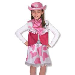 Utklädnad Cowgirl