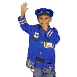 Utklädnad Polis