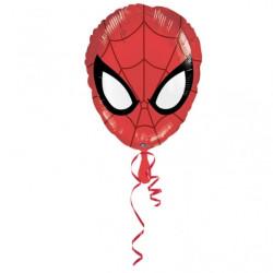 Folieballong Spindelmannen Huvud