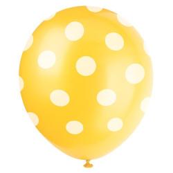 Gul Dots Ballong
