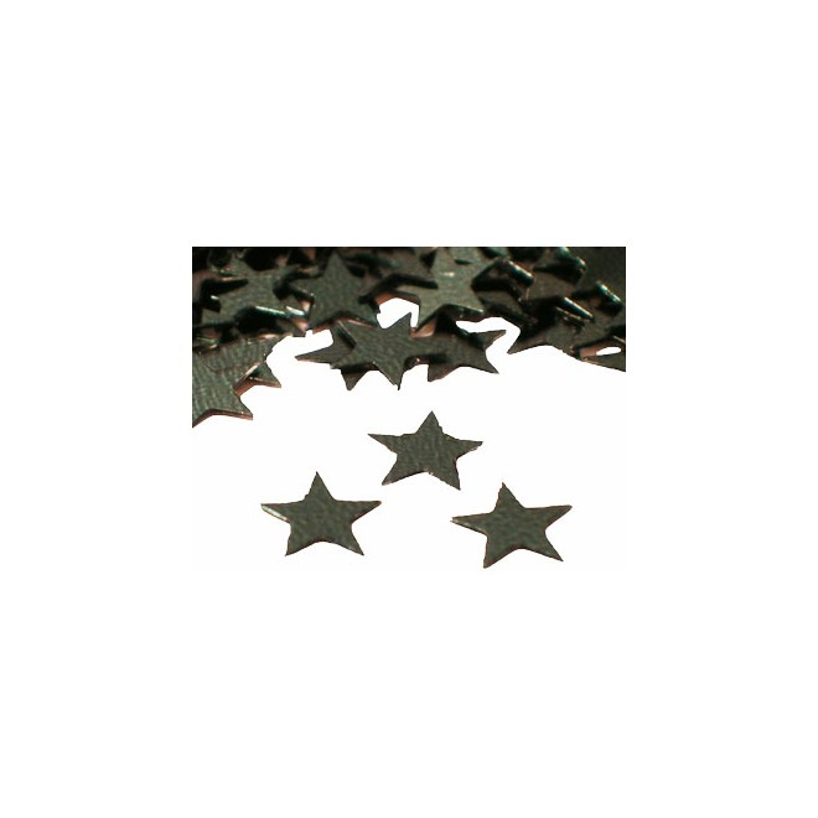 Konfetti Stjärna svart